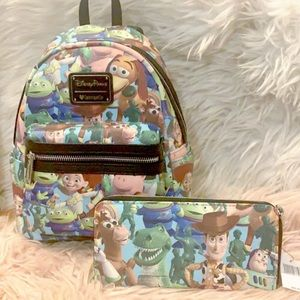 Loungefly Toy story Disney Parks Backpack set